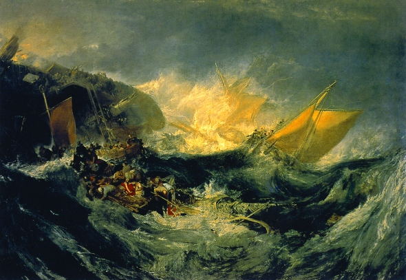 Turner, Shipwreck, Mike Leigh, il film sul grande maestro, di pino farinotti labrouge mymovies