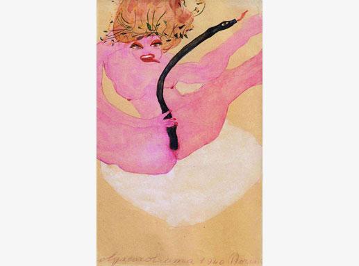 donne nell'arte Carol Rama labrouge 8 marzo