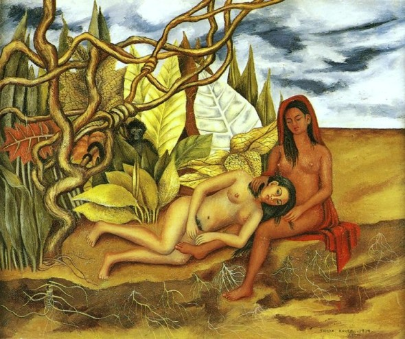 donne nell'arte Frida Kahlo labrouge 8 marzo