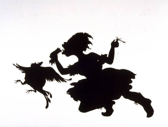The Keys to the Coop 1997 by Kara Walker born 1969