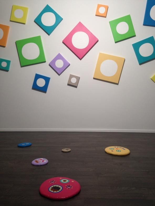 pinya proud to be a painter lugano labrouge installazione allegra ravizza