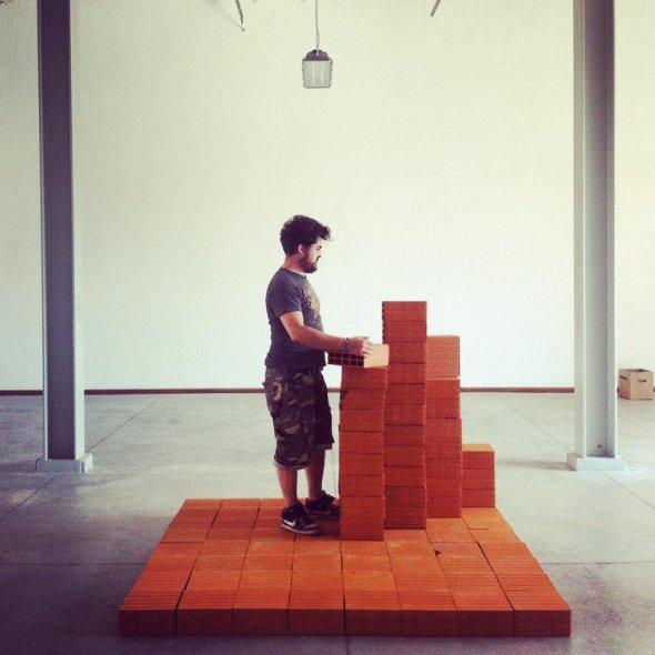 Progetto città ideale   parasite 2.0 base bricks  labrouge fabbrica del vapore